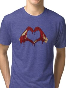 Blood Stained Love Tri-blend T-Shirt