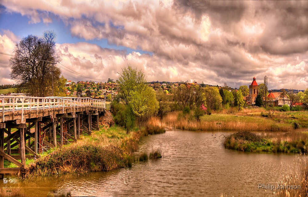 Brewery Views # 1- Goulburn Brewery c1833, Goulburn NSW Australia - The HDR Experience by Philip Johnson