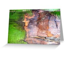 Affect on Greenery  Greeting Card