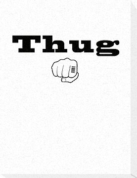 Thug identification T Shirt by erndub