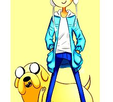 adventur time finn and jake  by criwilart