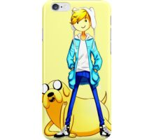 adventur time finn and jake  iPhone Case/Skin
