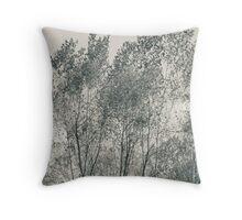 Trees - Garlo Heritage Nature Preserve Throw Pillow