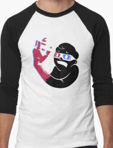Vault 3D Men's Baseball ¾ T-Shirt