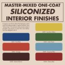 Siliconized Interior Finishes  by Sam K