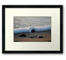 Rocky Water - Apollo Bay, Victoria Framed Print