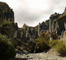 Putangirua Pinnacles by joergilmaz