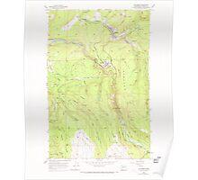 USGS Topo Map Washington State WA Wilkeson 244708 1956 24000 Poster