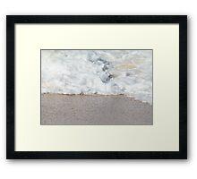 Sand and Surf Framed Print
