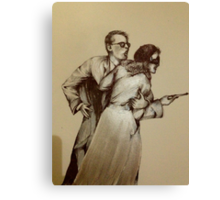 Pulp Friction ( In Progress ) Canvas Print