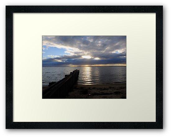 Loch Sport Sunset - Victoria by Heather Samsa