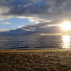 Sun on Sand and Water, Loch Sport, Victoria by Heather Samsa