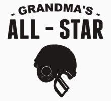 Grandma's All-Star Football Kids Clothes
