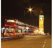 Harry Potter Bus, London, England, UK * Photographic Print