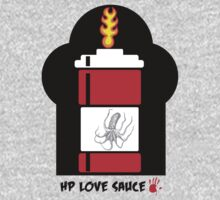 HP Love Sauce - RED One Piece - Short Sleeve