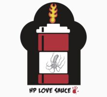 HP Love Sauce - RED Baby Tee
