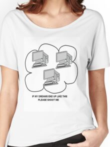 I hate computers Women's Relaxed Fit T-Shirt