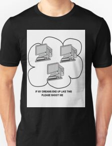 I hate computers Unisex T-Shirt