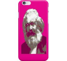 Pink Karl Marx iPhone Case/Skin