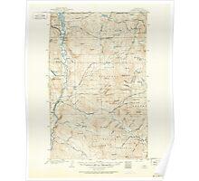 USGS Topo Map Washington State WA Osoyoos 243019 1902 125000 Poster