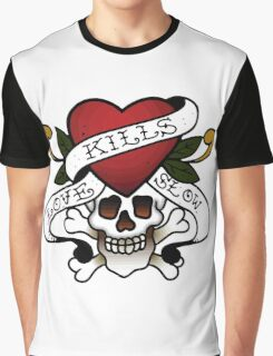 Love Kills You. Tattoo Quote Graphic T-Shirt