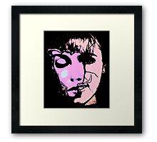 laura plamer black light Framed Print