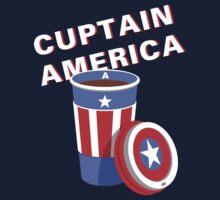 Cuptain America Kids Tee