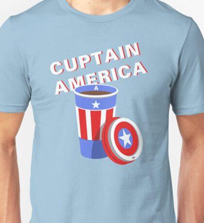 Cuptain America Unisex T-Shirt