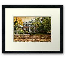 Autumn in Rockliffe Village Framed Print