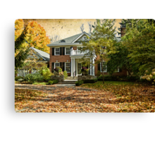 Autumn in Rockliffe Village Canvas Print