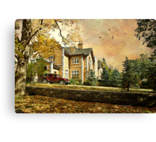 Home For The Day Canvas Print