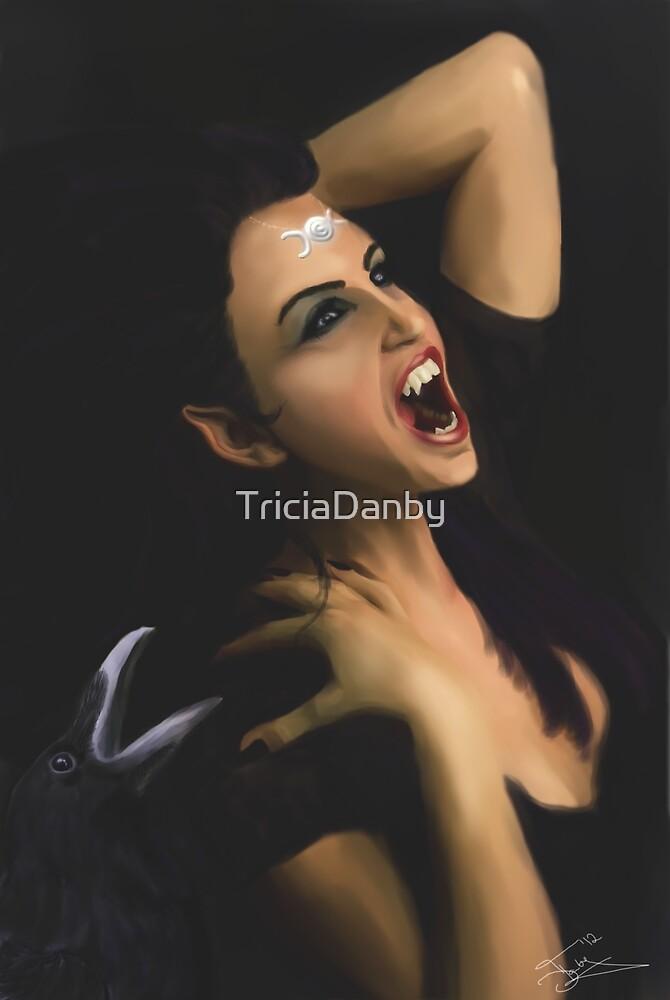 The Morrígan by TriciaDanby