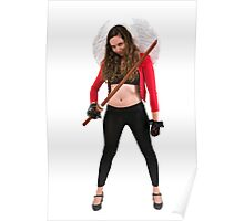 Avenging angle with a sword  Poster