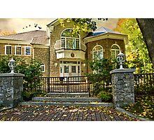 The Autumn Gate Photographic Print