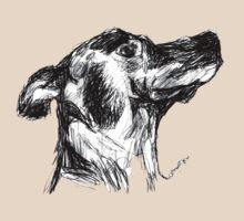 Dog Sketch (black&white) by soolsma