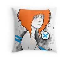 Mary Gold Throw Pillow