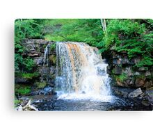 Yorkshire waterfall Canvas Print