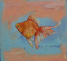 Ryukin Goldfish by Michael Creese