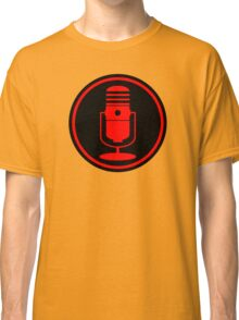 Vintage Red Microphone Classic T-Shirt