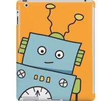 Friendly Blue Robot iPad Case/Skin