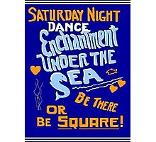 BTTF DANCE FLYER Photographic Print