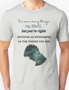 I've Seen Many Things | Doctor Who T-Shirt