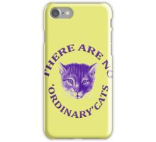 There Are No Ordinary Cats iPhone Case/Skin