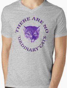 There Are No Ordinary Cats Mens V-Neck T-Shirt