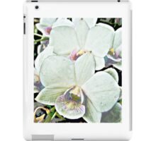 Orchid nature photography design art gift iPad Case/Skin