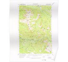 USGS Topo Map Washington State WA Silverton 243724 1957 62500 Poster