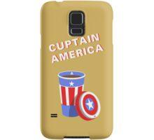 Cuptain America Samsung Galaxy Case/Skin