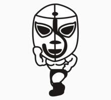 Luchador01 Kids Tee