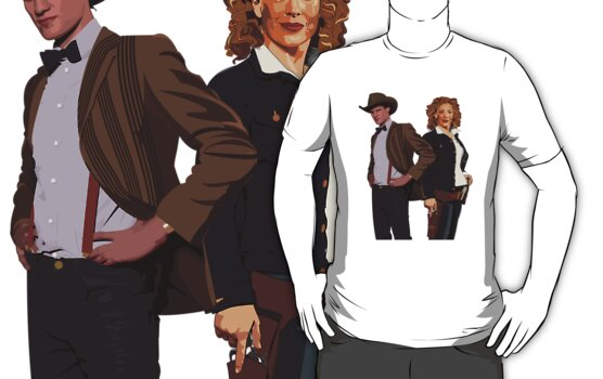 The Doctor and River Song by nero749