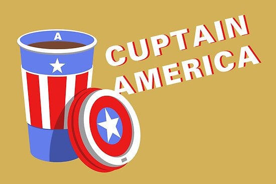 Cuptain America by sirwatson